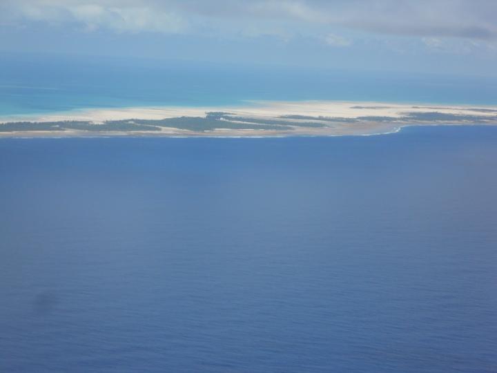 Tarawa at low tide