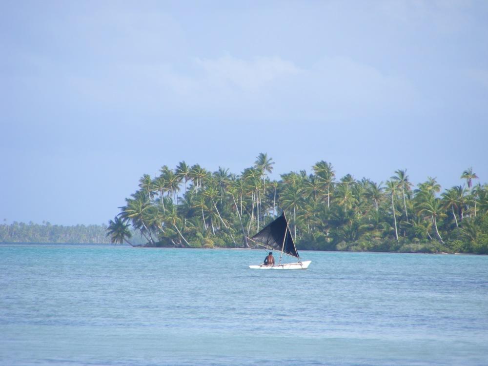 Kiribati fisherman