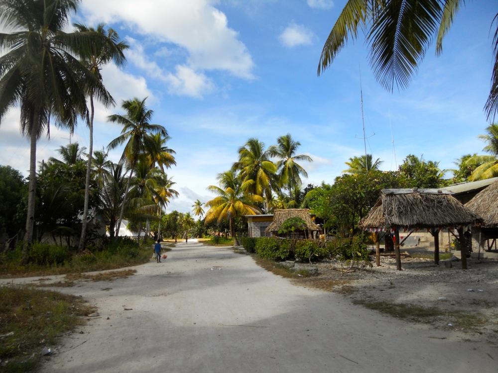 Marakei village