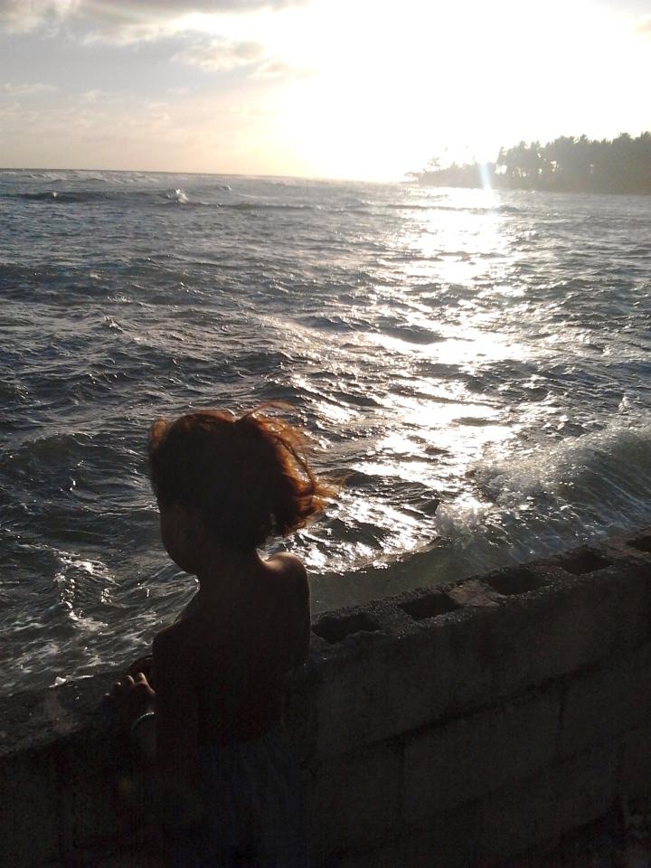 Kiribati sea waters