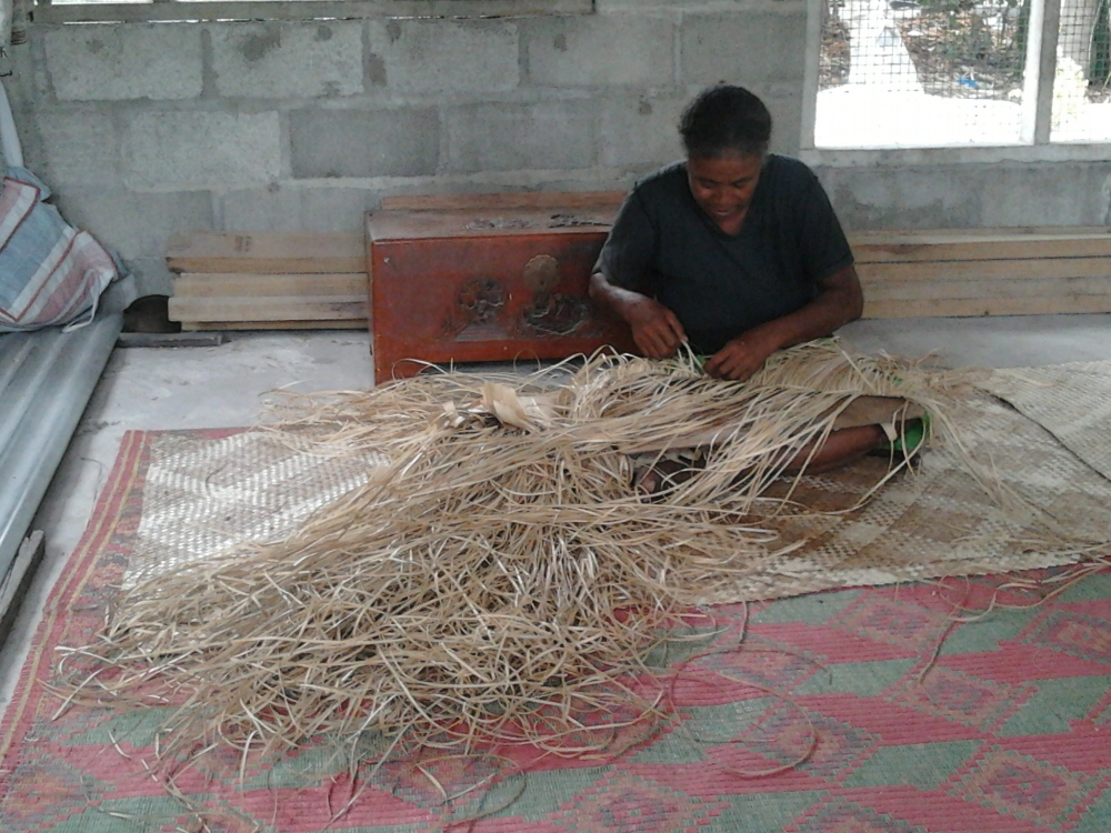 Kiribati weaving